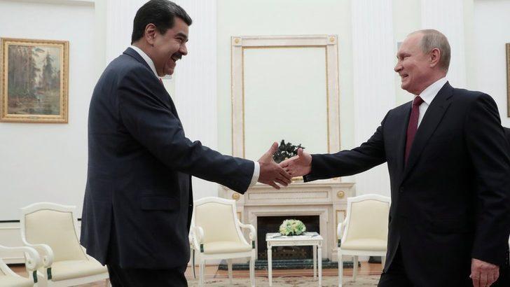 Putin'den Maduro'ya: Muhalefetle diyaloğa girmemek akıl dışı olur