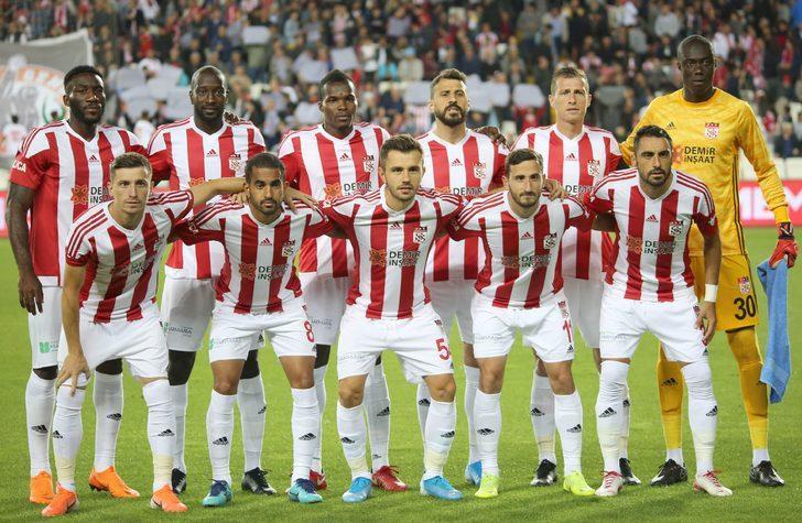 Sivasspor'un Alanya kafilesi belli oldu