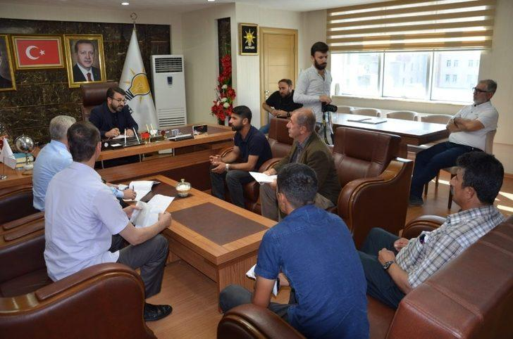 AK Parti Batman il başkanlığından halk günü uygulaması