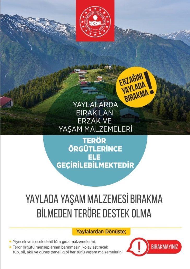 Bitlis Valiliğinden yaylacılara uyarı