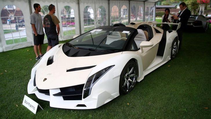 Ekvator Ginesi liderinin oğlunun el konulan lüks araçları İsviçre'de açık artırmada satıldı