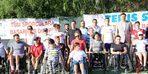 Tekerlekli sandalye tenis Türkiye şampiyonası Bodrum'da başladı