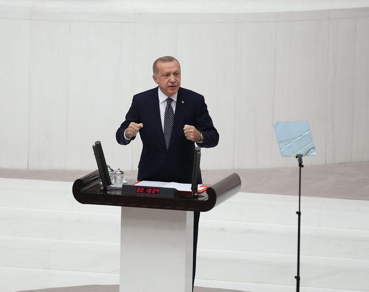Erdoğan: Kendi yolumuzda devam etmekten başka çaremiz kalmamıştır