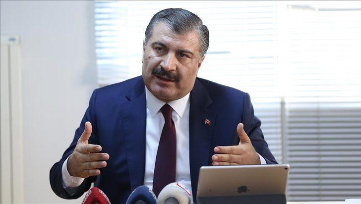 Sağlık Bakanı Fahrettin Koca, kabine toplantısı öncesi paylaştı