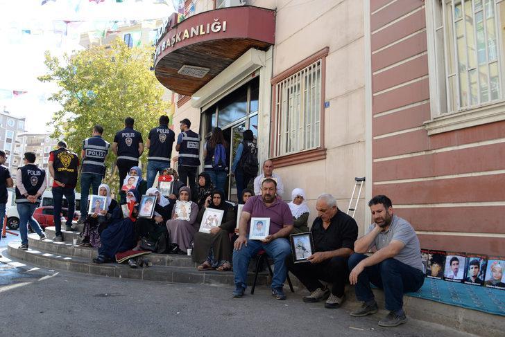 HDP önündeki eylemde 30'uncu gün