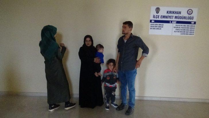 Hatay'da 10 kaçak göçmen yakalandı