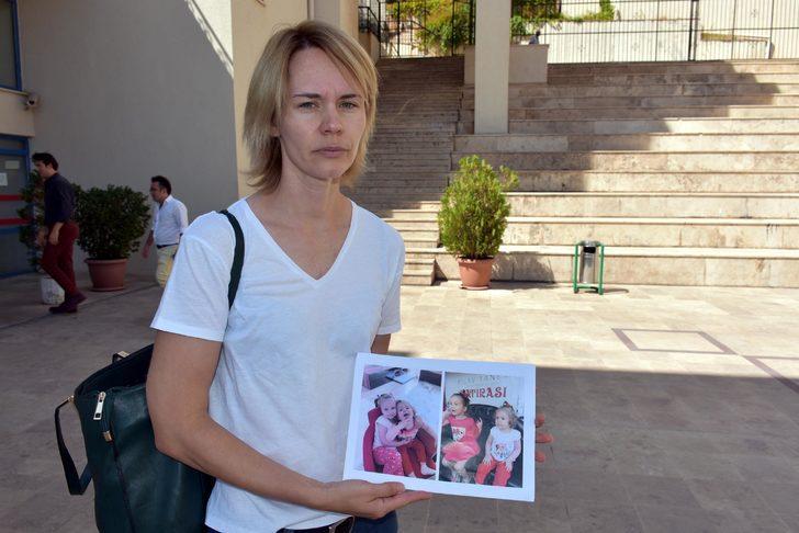 Ukraynalı anne çocuklarına kavuşamadan Ankara'ya döndü
