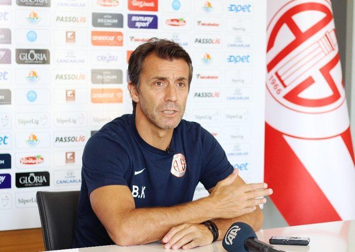 """Bülent Korkmaz: """"Fenerbahçe karşısında kazanmak için oynayacağız"""""""