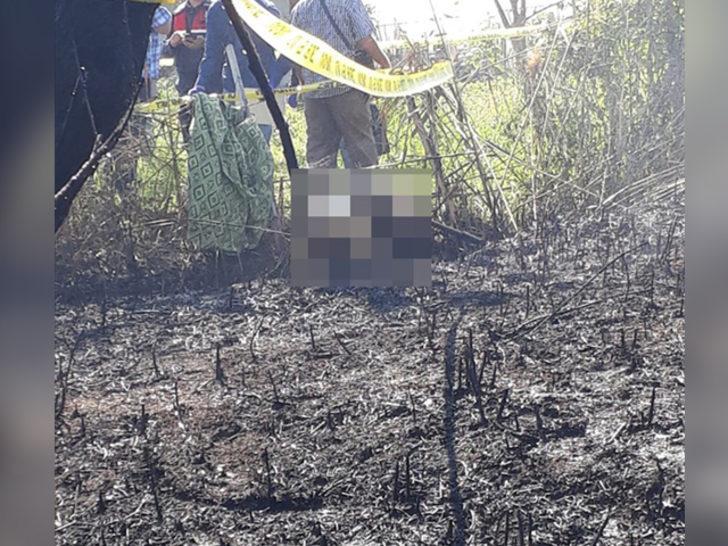 Korkunç olay! Dikenli tellere takılıp yandı