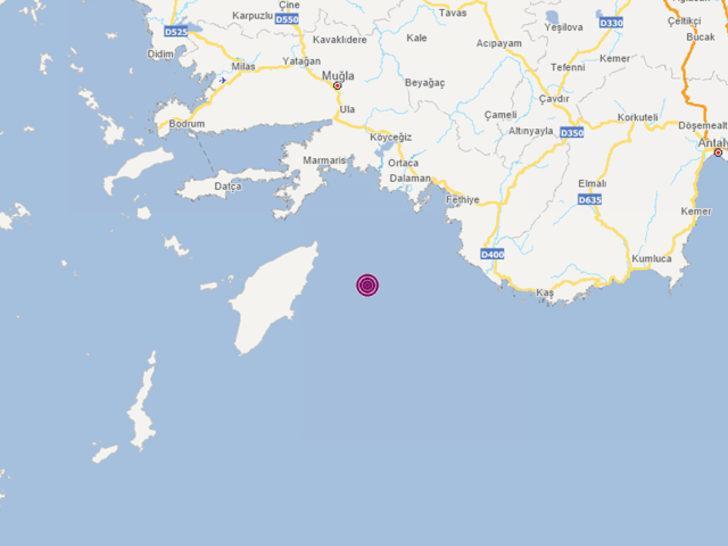 Son dakika! Akdeniz'de deprem