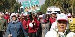 Dünya Yürüyüş Gününde 10 bin adım attılar