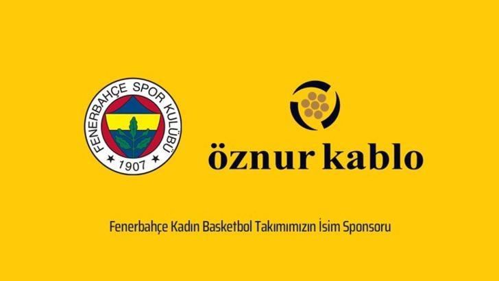 Fenerbahçe'nin yeni sponsoru Öznur Kablo oldu