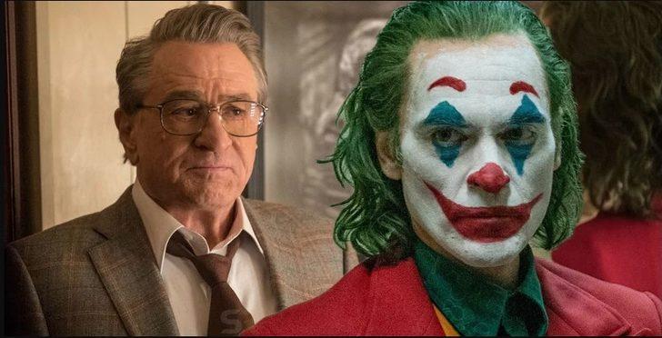 Joaquin Phoenix, Joker'in çekimleri boyunca Robert De Niro'yla hiç konuşmamış