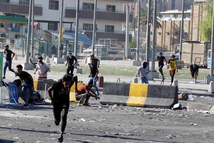 Irak'taki gösterilerde ölü sayısı 42'ye yükseldi