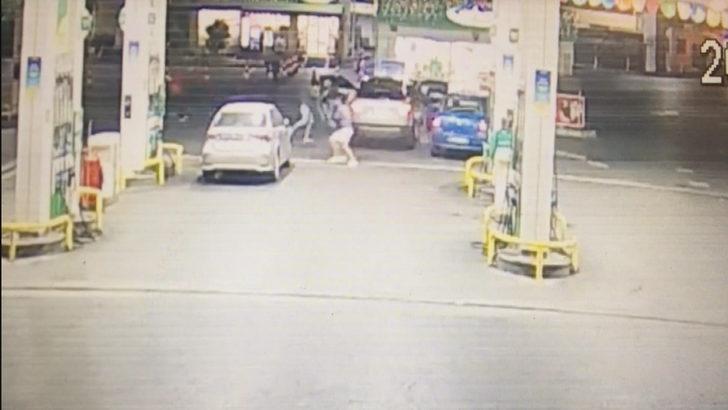 Maslak'taki trafik tartışması çatışmasından yeni görüntüler