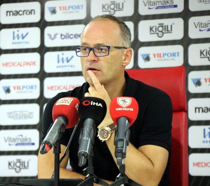 Samsunspor - Manisa Futbol Kulübü maçının ardından