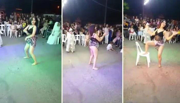 Türkiye'nin konuştuğu sünnet düğünündeki dansöz gözaltına alındı