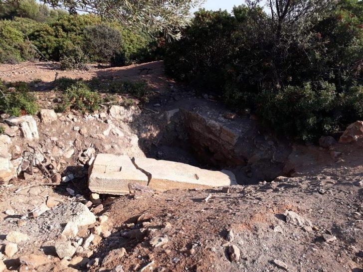 Balık Adası'nda kaçak tarihi eser kazısı yapıldığı iddiası