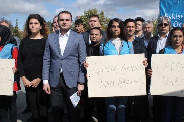 Eskişehir Ülkü Ocaklarından 'kadına şiddet' ve 'çocuk istismarı' açıklaması