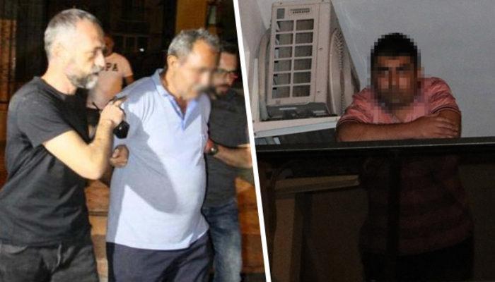 Antalya'da korkunç gece! Babasının götürülmesini balkondan böyle izledi!
