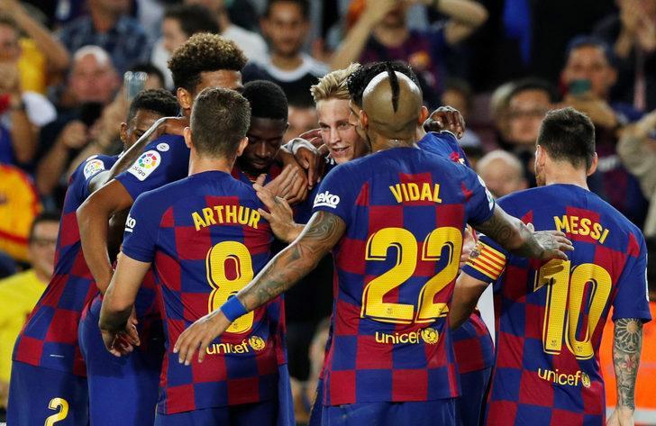 Barcelona 4 - 0 Sevilla
