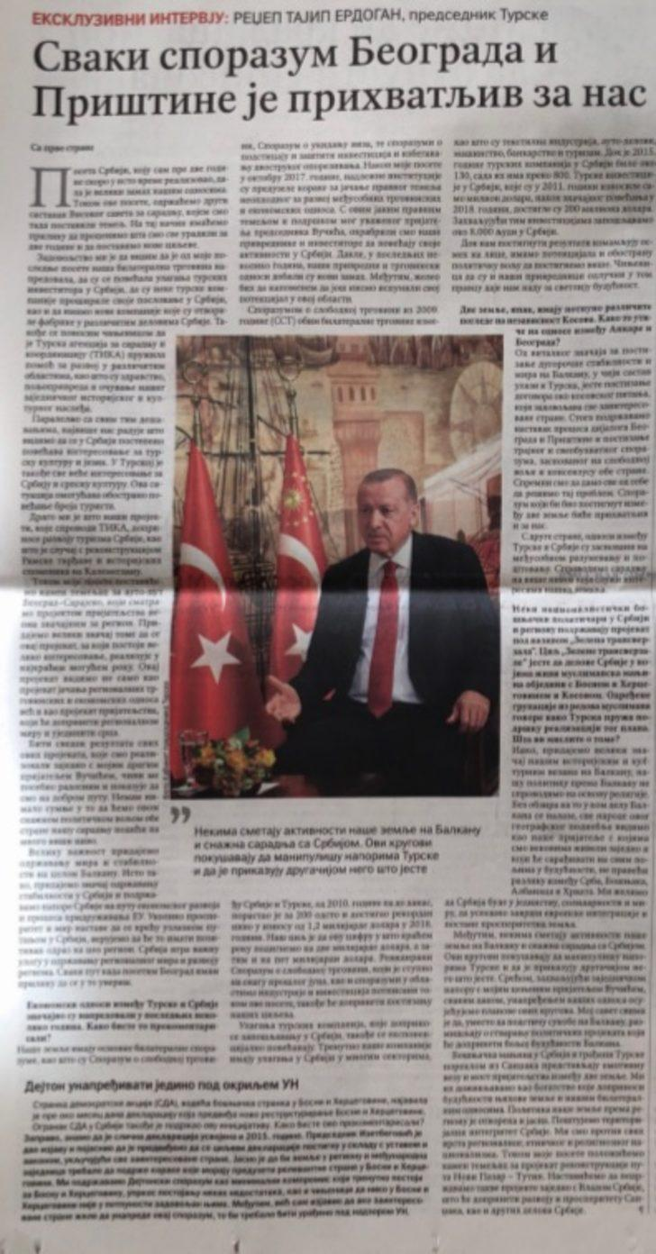 Erdoğan: Balkanlara yönelik politikamızı din eksenli yürütmüyoruz
