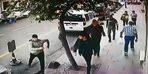 Sultangazi'de dehşet saçan gaspçılar kamerada; Önce dayak sonra gasp