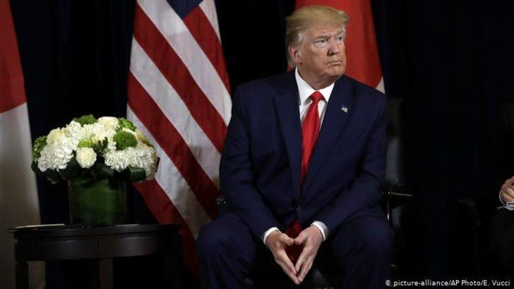 """Trump'tan """"başınızın çaresine bakın"""" mesajı"""
