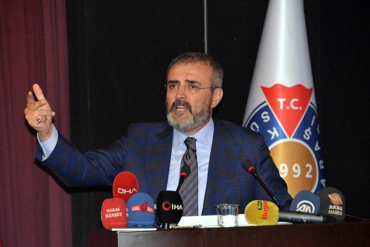 Mahir Ünal: Terör koridoru ile Türkiye'nin Afrika ve Hindistan ile ilişkisini kesmek istiyorlar