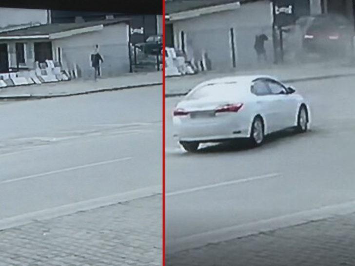 Rize'de trafik kazası! Kazadan bir adımla kurtuldu