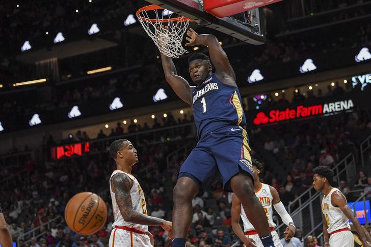 Zion Williamson ilk kez New Orleans Pelicans forması giydi