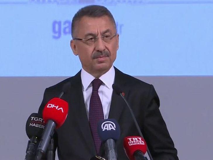 Fuat Oktay: Türkiye tehditlerle hareket edecek bir ülke değil