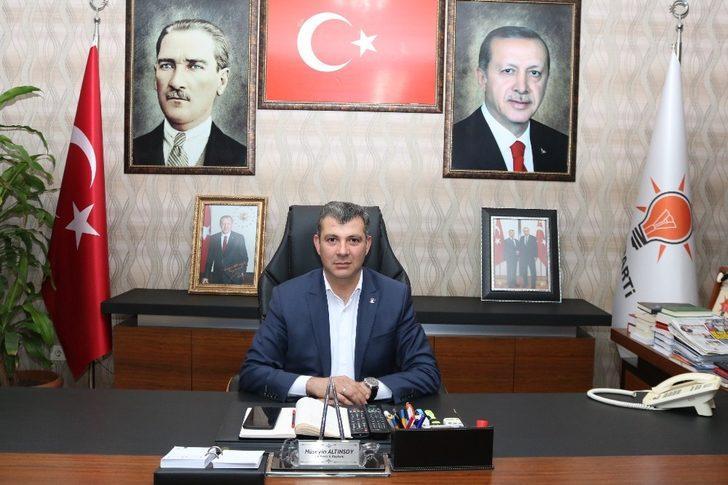 """Başkan Altınsoy: """"Yeni başarı hikayelerini yine biz yazacağız"""""""