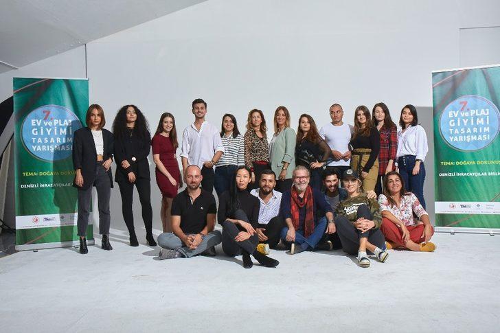 DENİB '7. Ev ve Plaj Giyimi Tasarım' yarışmasına katıldı