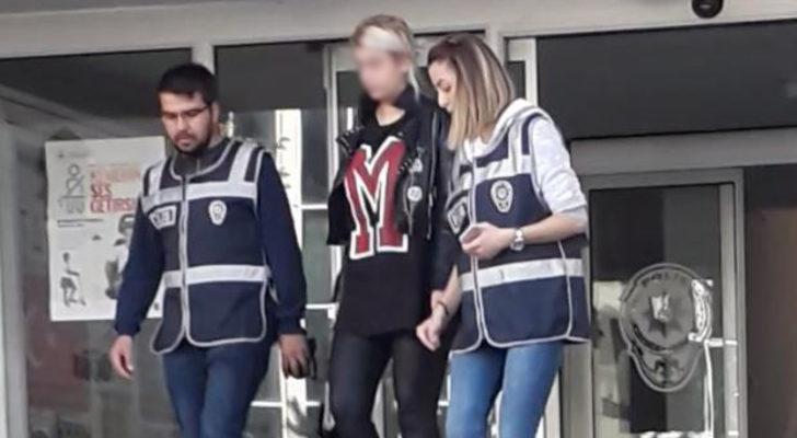 Aziziye Tabyası'nda mayolu fotoğraf çektiren kadına gözaltı