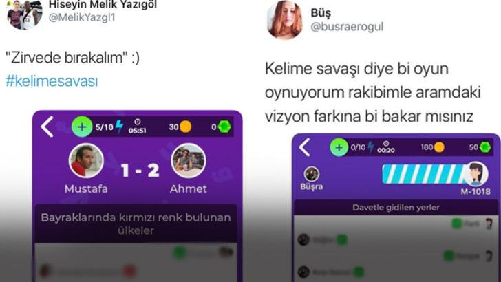 Mynet'in yeni oyunu Kelime Savaşı'nda kopartan yanıtlar sosyal medyayı da salladı!