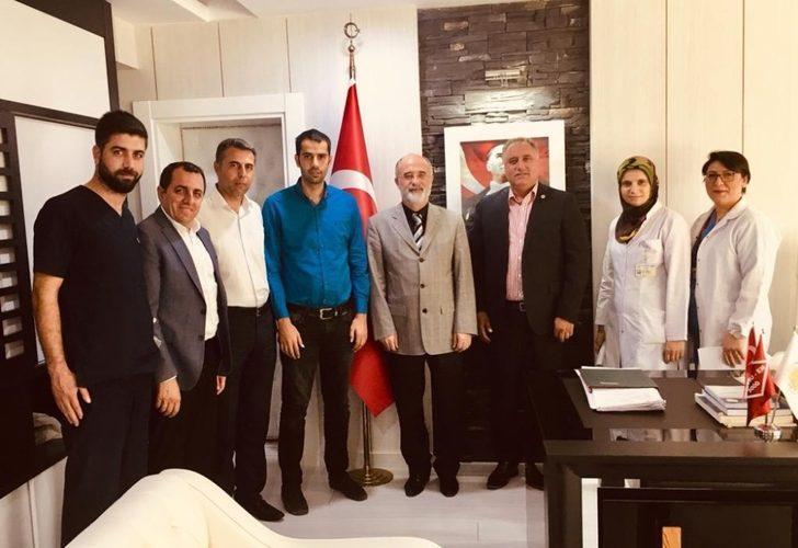 Sağlık-Sen Diyarbakır Şube Başkanı Ensarioğlu, sağlık çalışanlarının sorunlarına çözüm aradı