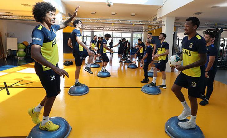 Fenerbahçe dayanıklılık ve kuvvet çalıştı