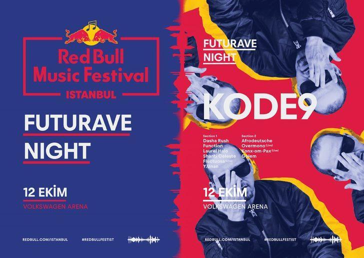 Red Bull Music Festival İstanbul'un son konsept gecesi!