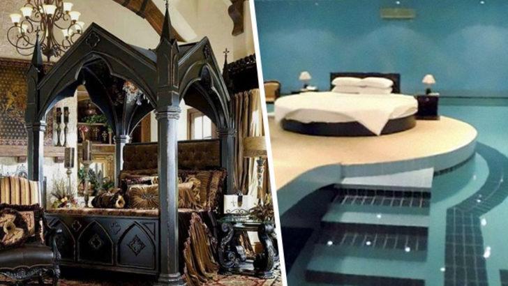 İnsanlar gördükleri en ilgin yatakları paylaşıyor! İşte o çılgın yatak odaları...