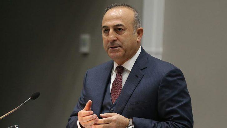 Dışişleri Bakanı Mevlüt Çavuşoğlu'ndan Filistin'e destek mesajı