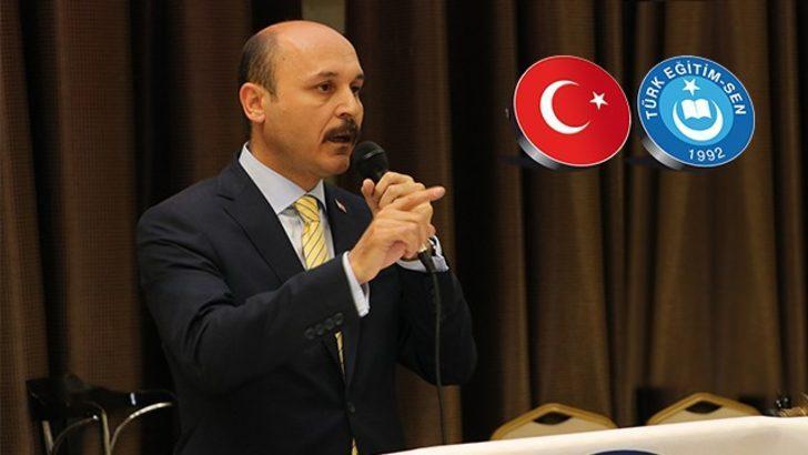 """Türk Eğitim Sen Genel Başkanı Geylan: """"82 milyonun yüreği kahraman Mehmetçiğimiz için çarpmaktadır"""""""