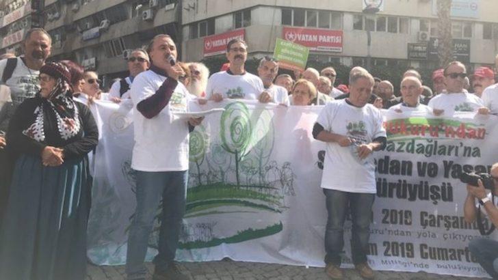 İzmir'den Çanakkale'ye 'Su, Vicdan, Yaşam Yürüyüşü'