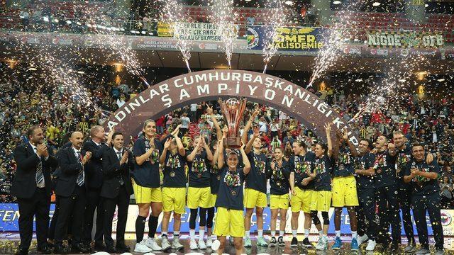 Cumhurbaşkanlığı Kupası F.Bahçe'nin