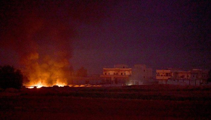 Son dakika: Barış Pınarı'nda kara harekatı da başladı!
