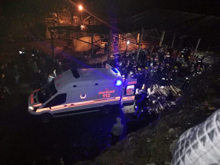Zonguldak'ta maden ocağında göçük: 1 ölü