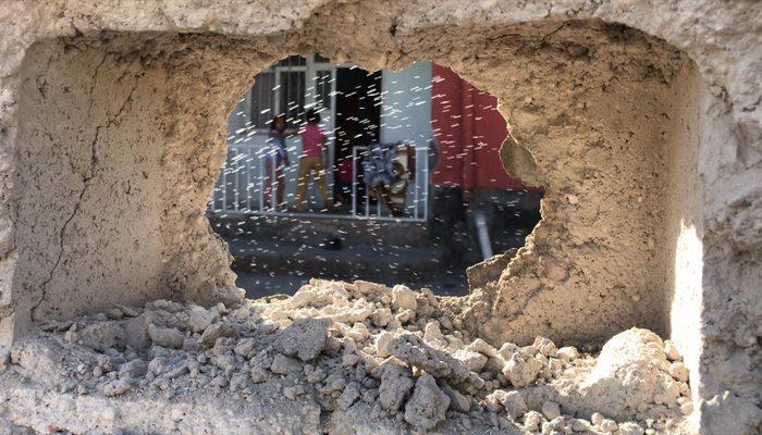 Teröristlerin saldırısında Ceylanpınar'daki çocuklar yaralandı