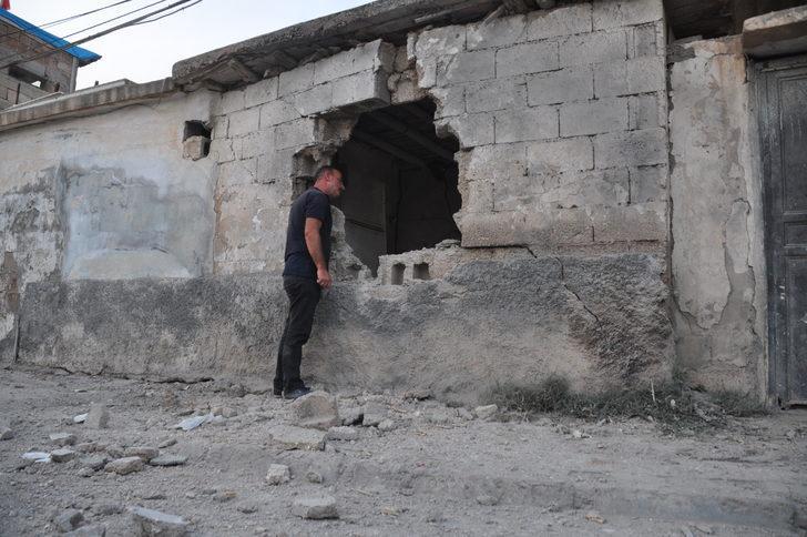 Evlerine havan topu isabet eden vatandaşlardan operasyona tam destek