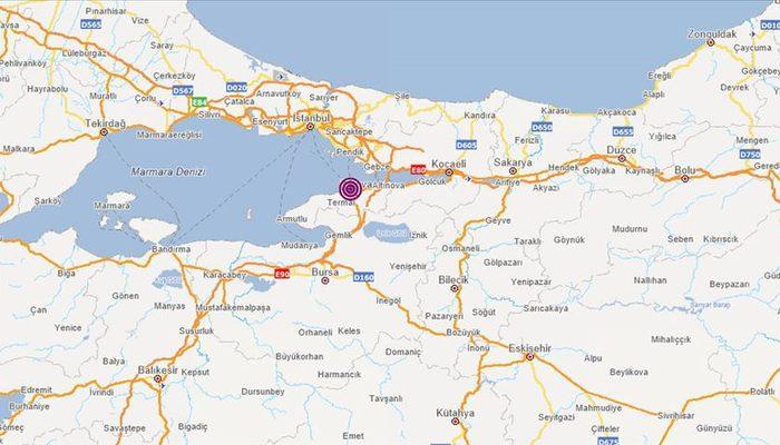 Son dakika: AFAD duyurdu! Yalova'da deprem: İstanbul'da da hissedildi