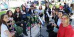 Eskişehir Hacı Süleyman Çakır Kız Anadolu Lisesi, 'Erasmusdays' etkinliklerini kutlamak için stant açtı